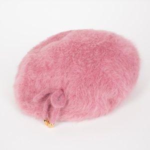 Vintage 1960's Kangol Pink Raspberry Beret